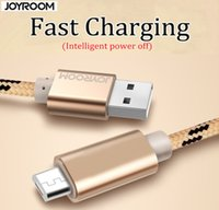 apple charging devices - JOYROOM in Metal Weave Fast Charging USB Data Sync Cable For Iphone S Micro phone Type c device M