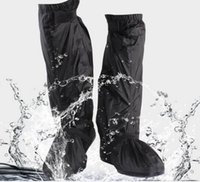 Wholesale Motorcycle Cycling Rain Proof Boots Shoes Cover Rain Gear Skiing Fishing Camp Waterproof
