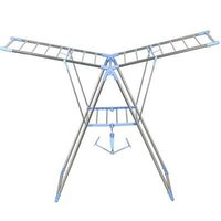 clothes drying rack - Folding Clothes Laundry Rack Air Dry Drying Foldable Hanging Hanger Dryer New