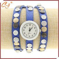 vente en gros-Hot style national antique bracelet CZ bleu montre Drop Shipping Luxury Wristwatch