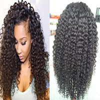 Wholesale Virgin Human Hair Kinky Curly Full Lace Human Hair Wigs Glueless Lace Front Wig Kinky Curl Full lace Wig With Baby Hair