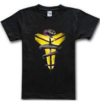 basketball jersey shirts - Black Mamba Men T shirt Basketball Star Kobe Bryant Tees Fitness Gym Sport Jersey Hip Hop Short Sleeve T Shirt Camisetas AMD248