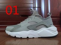 band canvas prints - 2016 Cheap New Air Huarache IV Running Shoes For Men Man Top Quality Breathable Huaraches Ultra Sport Sneakers