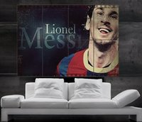 barcelona posters - Lionel Messi Barcelona FC and argentina Poster print wall art picture parts giant huge size NO138