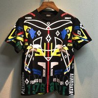 animal geometry - New county of milan Men T Shirts Marcelo Burlon geometry Religion T Shirt Hip Hop Skateboard Street Cotton T Shirts Tee