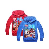 Wholesale 2017 Fashion New Hot sale Cartoon The Secret Life of Pets ptinted cotton long sleeve hoodies for kids boys girls