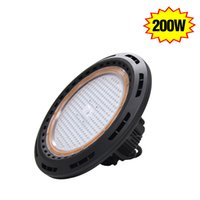 airport supply - 200W High Bay Light UFO led high bay fixture warehouse gymnasium airport waterproof high bay lighting meanwell power supply