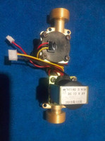Wholesale flowmeter with brass solenoid valve integration max water pressure mpa with price