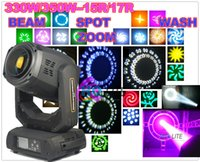 Wholesale hotsales new w R W R Beam Moving Head Light Spot Beam Wash Zoom Sharpy Beam Biprism16