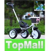 Wholesale Baby Kids Bicycle Trike Pushchair Toddler Bike Tricycle Outdoor Ride On Toys LLFA5