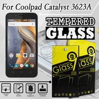 Wholesale Tempered Glass Screen Protector For Coolpad Catalyst a a Mobile Phone Accessories with packing