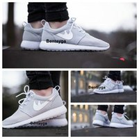 Wholesale 2017 Good Roshe Run Shoes Fashion Men s Women s Roshe Running London Olympic Walking Sporting Shoes Sneakers with original box