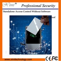 Wholesale Single door access control system without software card to unlocking mhz MF card access control