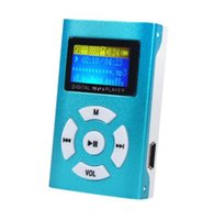 Wholesale Adroit USB Mini Rechargeable MP3 Player LCD Screen Support GB Micro SD TF Card DEC5