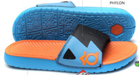 Wholesale Hot sale durant sandals for men KD s slippers boy online cheap size big size casual sneakers
