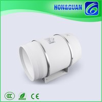 Wholesale Hon Guan High Airflow Industrial HF P Inch mm Speed In Line Mixed Flow Extractor Fan with Timer