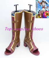 Wholesale Love live Lovelive Nozomi Tojo Nico Yazawa all members Cosplay Boots Shoes shoe boot YJZ45 new version ustom made hand made