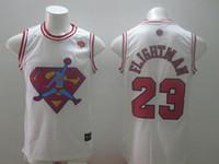 authentic michael jordan jersey - Flightman jersey black white Michael Jordan Flightman basketball jerseys authentic jerseys New Rev material Embroidery