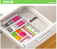 baskets for organizing - Plastic Clear Storage Box Kitchen Tableware Container Multifunction Organize Basket For Drawer Fridge Deskt kitchen cleaning organizer