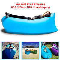 backpacking stuff - 1pcs Siest Fast Infaltable Sleep Bag Hangout same as Lounge Chair Air Sofa sleep bag DHL free
