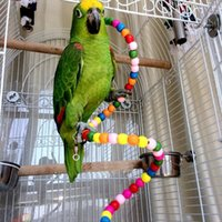 Wholesale Pet Bird Parrot Swing Toys Cage Hanging Chew Bite Parakeet Cockatiel Cockatoo