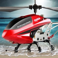 Wholesale SYMA Syma S107W Original Indoor RC Helicopter Toys GHz Remote Control Quadcopter Drones Children Aircraft Helicopter Model for Kids