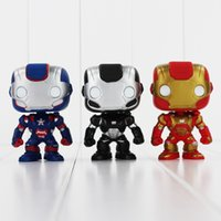 avengers cans - FUNKO POP Avengers Iron Man PVC Action Figure Collection Toy Doll cm style you can choose EMS