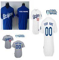 custom baseball jersey - Custom Los Angeles Dodgers Jerseys Personalized Stitched On field Baseball Jerseys For Men M XL