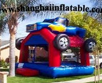 plastic playground - best quality inflatable playground inflatable bounce house for children entertainment