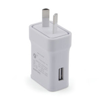 Wholesale Au plug usb wall travel charger V A Fast Charging USB AC Adapter For iPhone Samsung