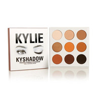 Wholesale in stock Kylie Eyeshadow Cosmetics Jenner Kyshadow pressed powder eye shadow Kit Palette Bronze Preorder Cosmetic Colors