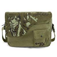 art school online - Animelody New style Anime Sword Art Online Canvas Messenger Bag Student school shoulder bag office computer Shoulder bag