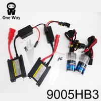 Wholesale HID V W W HB3 Xenon Lamp Kit headlight Car Headlight High beam Low beam lights k K K K K