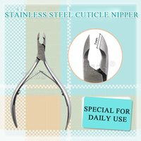 Wholesale Nail Art Nipper Stainless Steel Cuticle Clipper Manicure Plier Cutter Tool