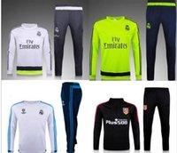 Wholesale Hot sales high quality reals Survetement Training suit James isco Modric survetement Soccer Tracksuit coat