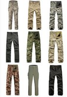Wholesale Camouflage Military TAD Lurker Shark Skin Soft Shell Pants Waterproof Camo Fleece Lining Tactical Combat Trousers