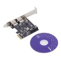 Wholesale PCI Express PCI E to USB Port PC Expansion Adapter Card For Win