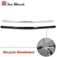 bicycle extension bar - Mountain Bike Handlebar Road Bicycle Frame Part Mirror Stem Bar Extension Tube Bikes Components One Shaped Aluminum Handlebars