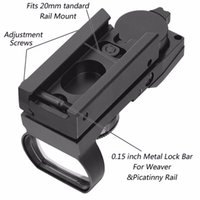 batteries red dot sight - Hunting Tactical mm Holographic x22x33 Reflex Red Green Dot Sight Scope With CR2032 Battery