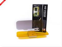 Wholesale Summer essential Day and Night Anti glare Car Sun Visor Driving Mirror Sun Visors Clip Board