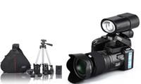 Wholesale Cameras photo MP D3300 Digital Cameras professional Cameras HD Camcorders DSLR Cameras Wide Angle x Telephoto Lens Camara