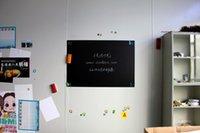 adhesive magnet sheets - Kids Drawing Soft Chalk Board Hold Magnets Sheet Ferrous Flexible Magnetic Blackboard Cm X Cm