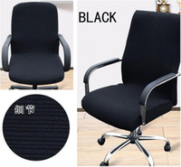 Wholesale Slipcovers Cloth Office Chair pads Removable Cover stretch cushion Resilient Fabric