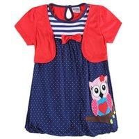 beautiful china patterns - Summer new girl dress Korean girl skirt cute cartoon patterns beautiful bow China buckle