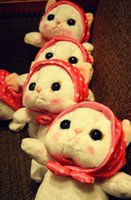 baby toys dog - 2016 New Arriving Sweet Looks Cute Cat Red Cheeks Plush Toys For Baby Gifts