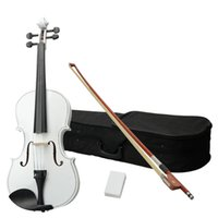 Wholesale New Inch White Acoustic Viola with Case Rosin Bow quot