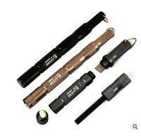 Wholesale EDC Gear CNC Fire Stick Starter Waterproof Magnesium flint stone outdoor Equipment lighter tool hike camp survive kit