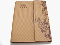 accounting quality - New Arrival Spiral High Quality Luxury Business Notebook Fashion PU Leather A5 Diary CM Wooden free Printing Paper