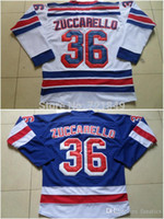bes pricing - Men s High quality low price guarantee Mens ny New York Rangers Mats Zuccarello royal blue white Ice Hockey Jerseys cheap Bes