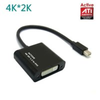 Wholesale Active ATI Eyefinity HD K Mini DisplayPort DP to DVI Video Audio Mac ThinkPad Adapter Converter Multiple Monitor
